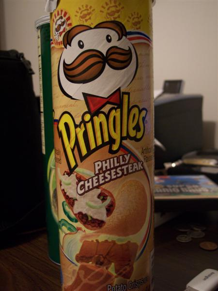 Philly Cheesesteak Pringles