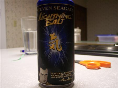 Steven Seagal Asian Experience Energy Drink