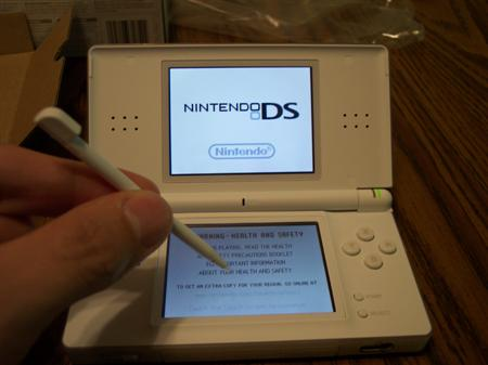 The DS Lite.