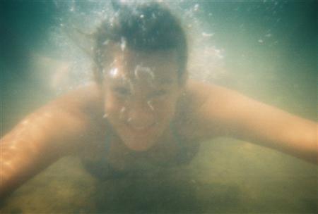 Underwater Kim!