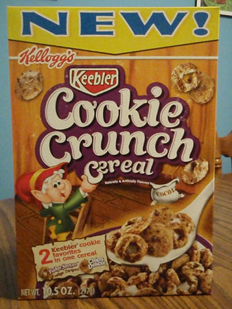 cookie crunch cereal