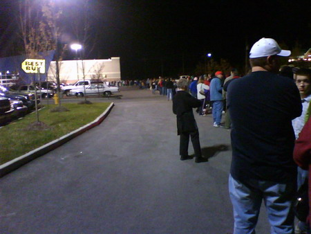 the huge line