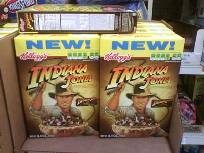 indiana jones cereal