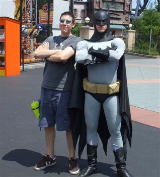 me & batman