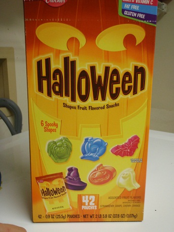 36 days until halloween halloween fruit snacks half assed productions