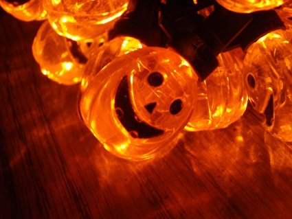 these are much better than my old pumpkin light sets found in my boxes of halloween decorations plus since theyre led they wont burn the house down - Halloween Pumpkin Lights