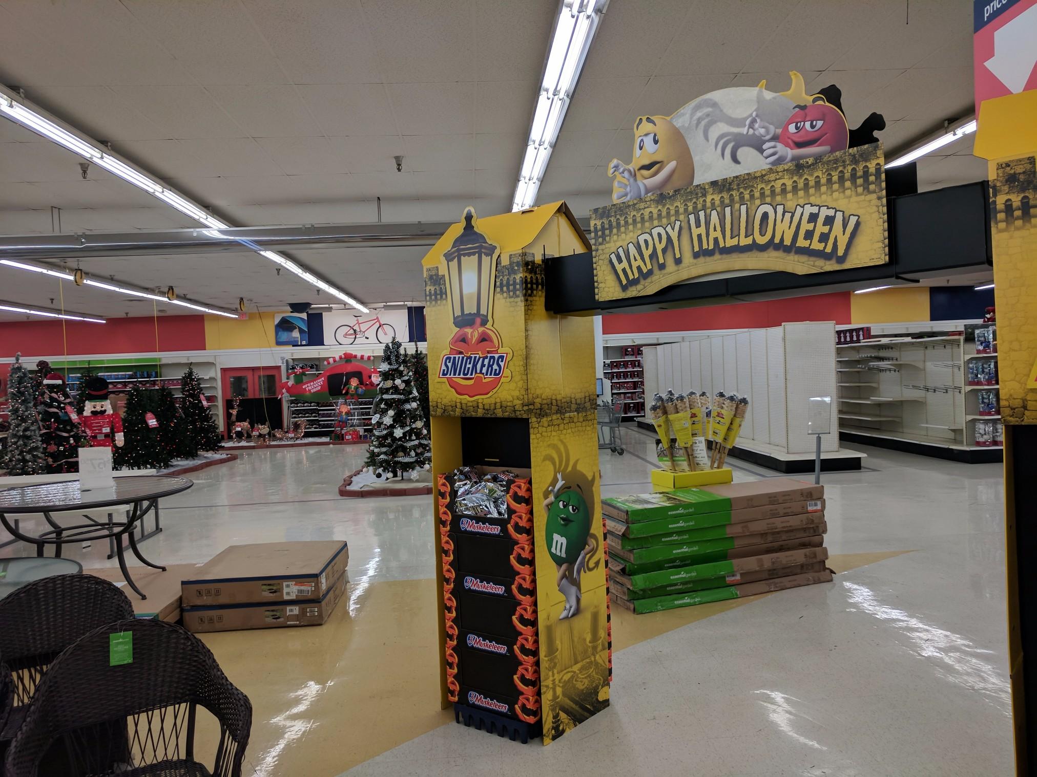 Kmart s Merry Halloween mas display