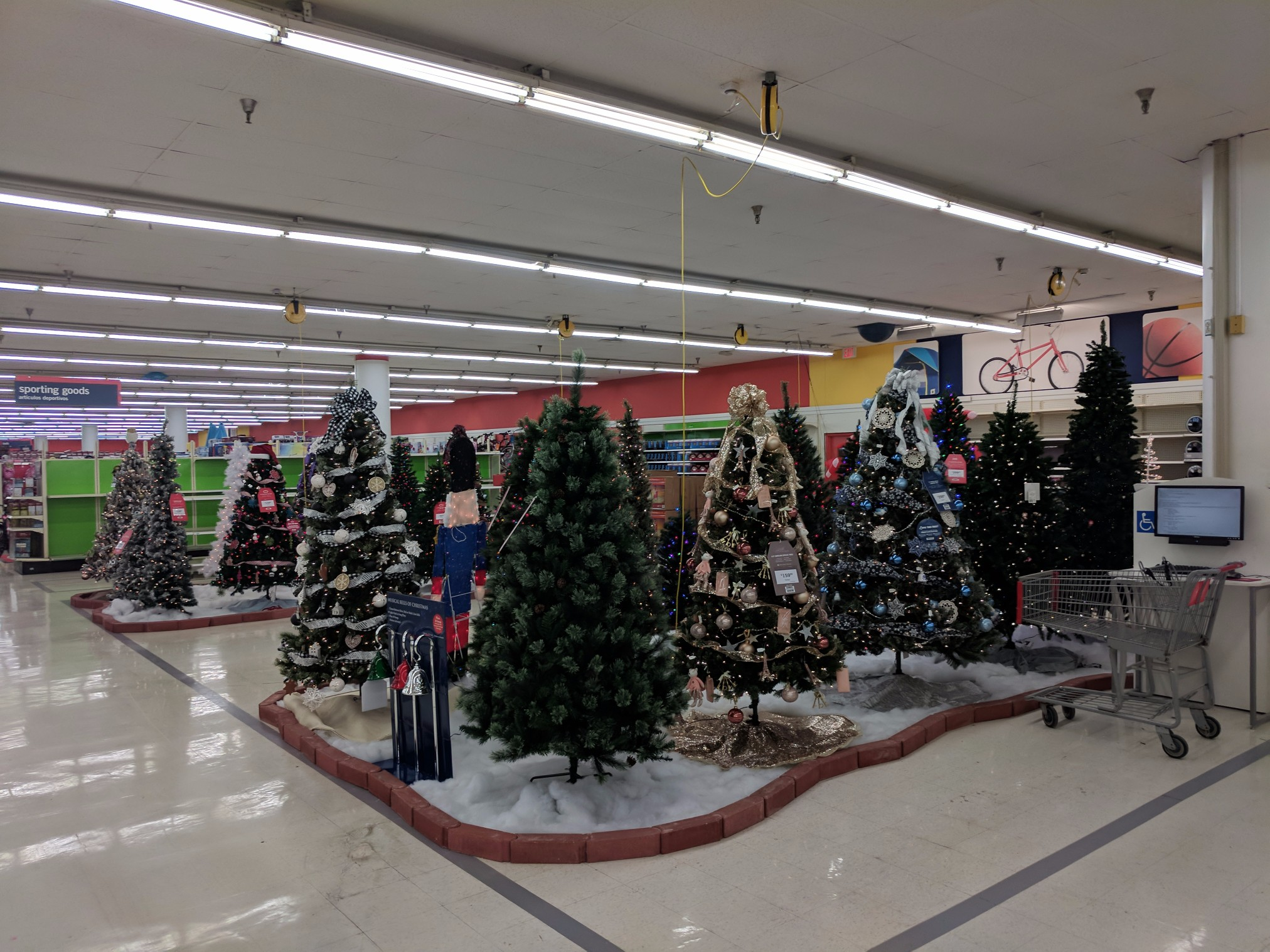 Kmart\'s Merry Halloween-mas display | half-assed productions